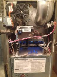 goodman furnace flame sensor. furnace repair call. customer has a 10 year old bryant furnace. model 310aav036070aaja. goodman flame sensor