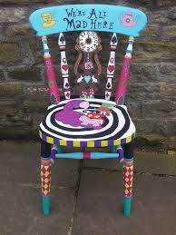 alice in wonderland furniture. funky furniture painted alice in wonderland chair p