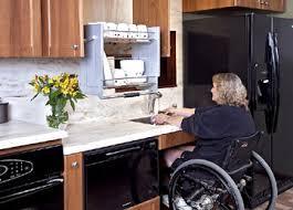 Attractive Mobility Challenged Kitchen Design