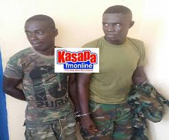 5fm C Fake Residents Assaulting For Kasapa102 Arrested Soldiers r