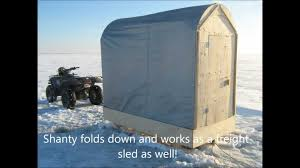 free portable ice fishing shelter plans house
