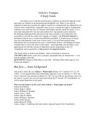 gideon v wainwright gideon`s trumpet study guide