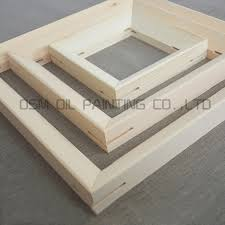 free by express high quality pine wooden frame for canvas painting diy stretch inner frame