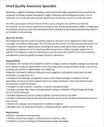 Salesforce Administrator Resume Magnificent Salesforce Administrator Resume New Quality Assurance Specialist Job