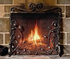 fireplace heat shield board