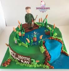 Fishing Man Cake Teenage Adult Birthday Cakes Themed Birthday