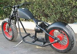 180 or 200 tire bobber rolling chassis r11b motorcycle rollers
