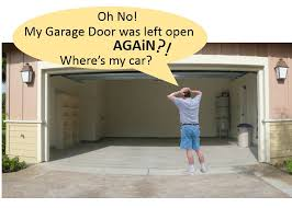 picture of automatic garage door open closed checker