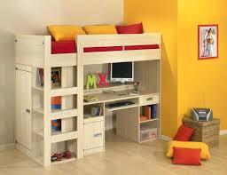 loft beds for kids with desk. Delighful Desk Bunk Beds And Loft Cool Desk Elevated Kids Bed  Double For Loft Beds Kids With Desk D