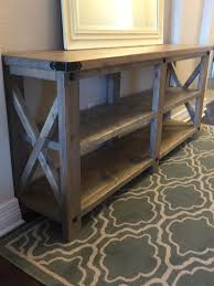 diy sofa table ana white. Rustic X Console | Do It Yourself Home Projects From Ana White Diy Sofa Table