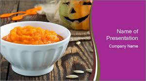 Pumpkin Porridge Powerpoint Template Backgrounds Google Slides