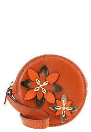 michael michael kors flowers wallet orange women michael kors makeup bag luxury lifestyle brand