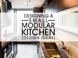small kitchen furniture design. Designing A Small Modular Kitchen [Design Ideas] Furniture Design