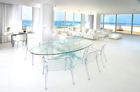 Wonderful Clear Acrylic Dining Chairs Ghost Chair Lucite Dining