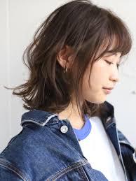 2019 春 新着順 ミディアムヘアスタイル髪型 Beauty Boxjp40