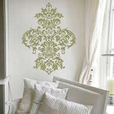 free shipping large damask vinyl wall decal art baroque sticker home decor graphic t3024 on damask sticker wall art with free shipping large damask vinyl wall decal art baroque sticker home