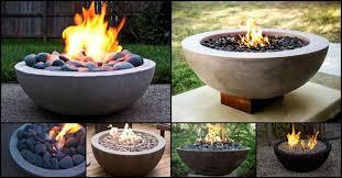 diy cement bowl fire pit