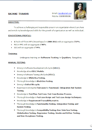 Gallery Of Simple Resume Format Download