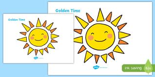 Free Golden Time Giant Display Sun Golden Time Sun