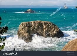 Pacific Coast Landscape Design Inc Usa Pacific Coast Landscape Arch Rock Stock Photo Edit Now