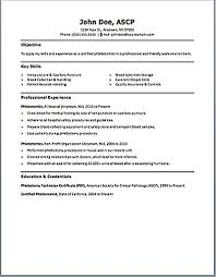 Phlebotomist Resume Examples Phlebotomy Resume Includes Skills Experience Educational 6