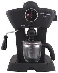 morphy richards fresco 4 cups espresso maker black