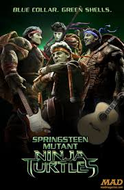ninja turtles 2014 poster. Interesting Turtles U201cSpringsteen Mutant Ninja Turtlesu201d Any Less Dumb And Turtles 2014 Poster T