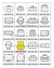 ford f 100 other new oem pigtail wiring harness 2cavity female ford f250 f350 f450 f550 f650 f750