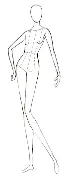 Human Body Drawing Templates At Getdrawingscom Free For Personal