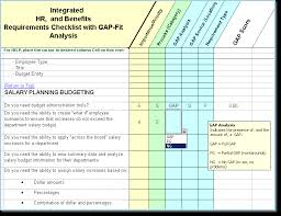 human resource information system hris selection hr software  hr requirements matrix