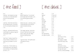 Bar Food Menu Template | Printable And Formats