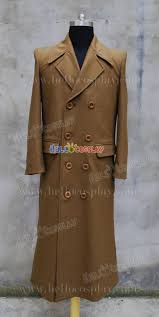 doctor brown trench coat doctor dr 10th tenth david tennant cosplay costume