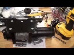 2010 honda rancher at trx 420 xtreme winch 3000 install youtube warn a2000 atv winch wiring diagram at Honda Atv Winch Wiring Diagram