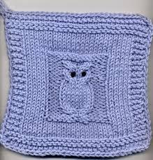 Free Owl Knitting Pattern