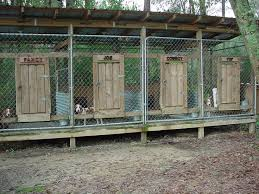 above ground kennel plans