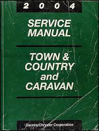 2004 chrysler dodge minivan wiring diagram manual original caravan 2004 caravan town country repair shop manual original 139 00