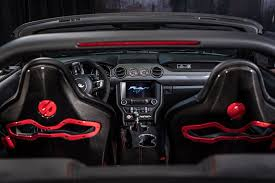 ford mustang convertible interior. 2017 ford mustang gt convertible by classic design concepts and sparco usa interior