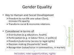 essay topics on gender equality