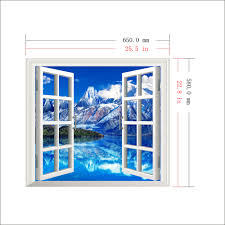 Artificial Window Iceberg View 3d Artificial Window View 3d Wall Decals Room Pag