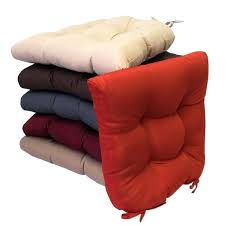 non slip chair cushions polyester inch x inch indoor outdoor waterproof non skid slip over patio chair cushions