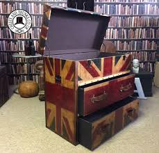 Union Jack Trunk - 2 Drawers ⋆ Chests \u0026 Trunks