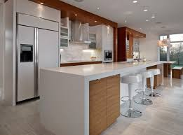 white kitchen counter. Interesting Kitchen Wrapped Kitchen Countertop With White Island And Three Bar Stool Image In Counter H