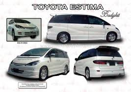 In october 2006, the avanza received its facelift in malaysia. Estima Acr30 Toyota Johor Malaysia Johor Bahru Jb Masai Supplier Suppliers Supply Supplies Mx Car Body Kit