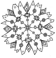 Get This Free Snowflake Coloring Pages to Print Out 31679 !