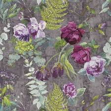 Small Picture tulipani amethyst wallpaper Designers Guild