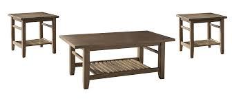 Coffee Table Set Of 3 Ashley Furniture T125 13 Zantori 3 Pc Coffee Table Set Light Brown