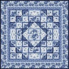 72 best Blue and White Quilts images on Pinterest | White quilts ... & blue and white quilt Adamdwight.com
