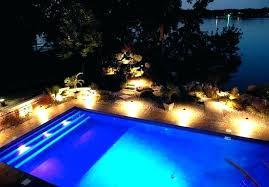 Swimming pool lighting design Ceiling Outside Pool Lighting Ideas Various Outdoor Pool Lighting Ideas Garden Led Swimming Pool Lighting Ideas Diy Universalhealthinfo Outside Pool Lighting Ideas Outdoor Pool Lighting Impressive