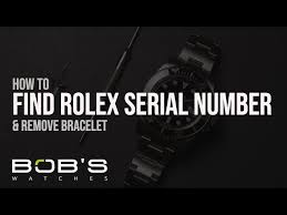 Rolex Crystal Chart Rolex Serial Numbers Production Dates Lookup Chart Bobs