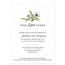 Biodegradable Paper With Flower Seeds Love Grows Seed Invitation In 2018 Invitation Inspiration